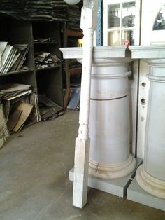 Post, Porch from Black Dog Salvage