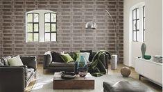 Boekenkast Behang Woonkamer : Best hout behang images in