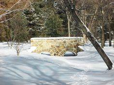 Stone Bridge in Iverson Park, Stevens Point