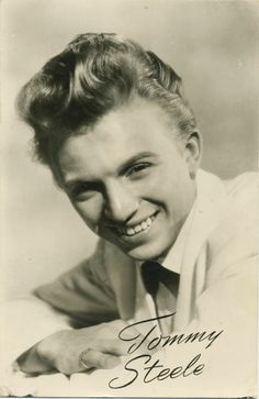 Tonny Steele - English entertainer, regarded as Britain's first teen idol and rock and roll star. Rock And Roll, Tommy Steele, Male Country Singers, 50s Music, British Rock, British Men, Classy Men, British Invasion, British Actors