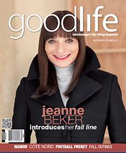 GoodLife Mississauga Sept/Oct 2011 Jeanne Beker