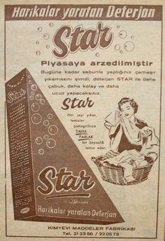 OĞUZ TOPOĞLU : star deterjan 1959 nostaljik eski reklamlar American Revolution Timeline, Old Poster, History Timeline, Historical Pictures, Nostalgia, Black History Month, Vintage Advertisements, Childrens Books, Istanbul
