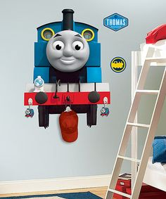 Cuties Conductors Can Decorate Their Room With This Thomas Wall Decal That Comes Complete With Three