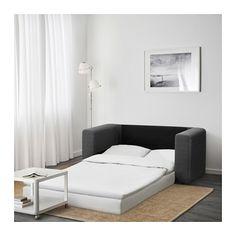 ASKEBY 2er-Bettsofa - grau - IKEA