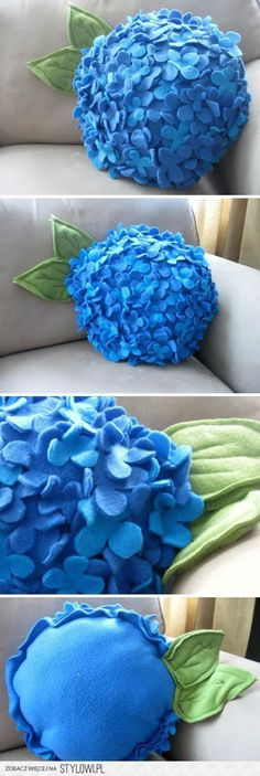 Lovely lilac pillow idea!