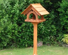 wood bird feeder plans | Wooden Bird Tables