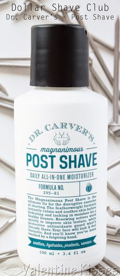 Review of Dr. Carver's Magnanimous Post Shave Moisturizer