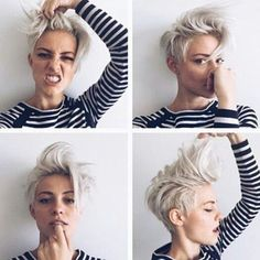 Image result for androgynous hairstyles