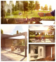 frameless sliding glass doors exterior home decor glasschiebet ren glasfaltt ren. Black Bedroom Furniture Sets. Home Design Ideas