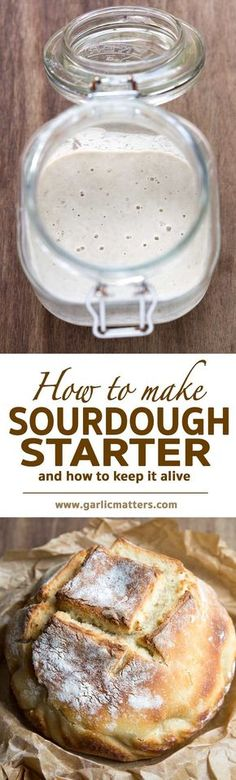 Learn how to make best sourdough starter with wild yeast for the most delicious sourdough bread. Step by step instructions with pictures, problem solving and full guidance. It is easier than you think!