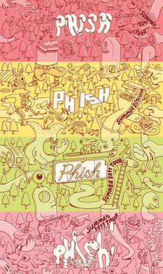 phish ticket design june 2011 | BM 11 PHISH TICKETING 1