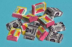 Oh i remember..Blackjacks and Fruit salads chewy sweets.  And 2 for a penny 1d, bought at Ducks Newsagents.