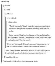 Aaw yiss OGD obsessive grammar disorder aka me