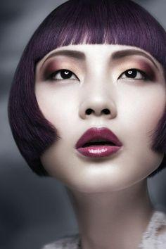 Neo Goth Aveda A/W 2012   Makeup: Me