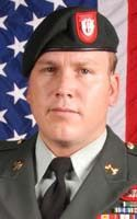 Army Sgt. 1st Class David E. Metzger  Died October 26, 2009 Serving During Operation Enduring Freedom  32, of San Diego; assigned to the 3rd Battalion, 7th Special Forces Group (Airborne), Fort Bragg, N.C., died Oct. 26 of wounds suffered when the MH-47 helicopter he was aboard crashed in Darreh-ye Bum, Afghanistan.