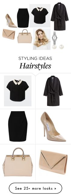 """Untitled #5063"" by dominika-h on Polyvore featuring мода, Michael Kors, L.K.Bennett, Jimmy Choo, Victoria Beckham, H&M и Accessorize"