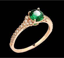 anel de ouro com esmeralda feminino - Pesquisa Google