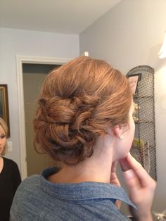 Wedding hair! By Megan whitener