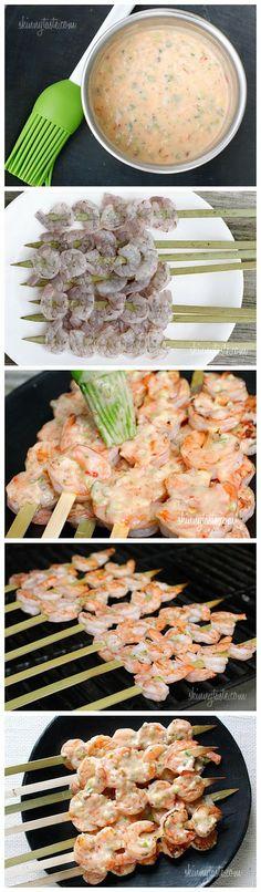 Bangin' Grilled Shrimp Skewers? What are you serving superbowl sunday?