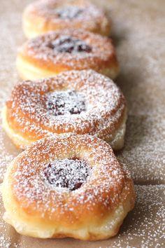 Dolce Fooda: Serbian Doughnuts with Jam (Krofne)