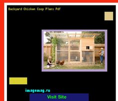 Backyard Chicken Coop Plans Pdf 072331 - The Best Image Search