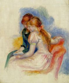 The Reading - Pierre-Auguste Renoir