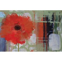 East Urban Home Blooming by Irena Orlov Painting Print on Wrapped Canvas Size:
