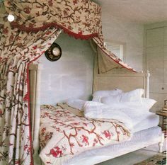 design chinoiserie fabric Braquenie were the foremost designers and printers and weavers of fabrics, ta. Antique Bedrooms, Zen Bed, Chinoiserie Fabric, Bed With Posts, Colour Board, Color, Power Nap, French Interiors, French Style