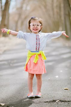 Crewcuts spring looks for little girls, our happiness tour