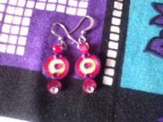 paper quilling! earrings!