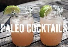 Paleo Cocktails...mmmmmm.   • 2 oz tequila  • 4 oz grapefruit juice  • splash of pomegranate juice   #paleo #paleopulse #healthyliving