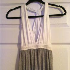 Aqua maxi dress Aqua maxi dress size small. Worn once Aqua Dresses Maxi