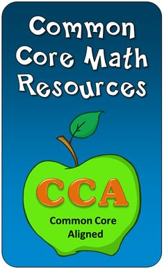 Laura Candler's Common Core Math Resources - Includes both products and freebies! Math Teacher, Math Classroom, Teaching Math, Teaching Ideas, Classroom Ideas, Teacher Stuff, Math Strategies, Math Resources, First Grade Math