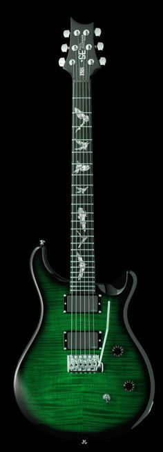 Paul Allender Signature...PRS..in green. Played this..;)