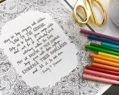 A Letter I Wrote For Your Sake || free coloring sheet