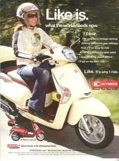 #5 Kymco - always wanted one of these..