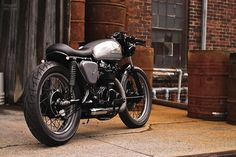 Honda cafe racer. Amazing.