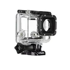 Rugged and waterproof, the GoPro Dive Housing is designed for deep sea diving and extreme activities. Its flat glass lens delivers maximum image sharpness above and below water. Gopro Case, Gopro Hd, Gopro Hero 3, Nikon D3100, Gopro Accessories, Photo Accessories, Gifts For Scuba Divers, Dove House, Cable
