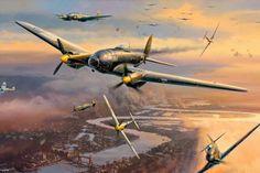 Mundo aviões da Segunda Guerra