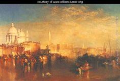 Venice - Joseph Mallord William Turner - www.william-turner.org