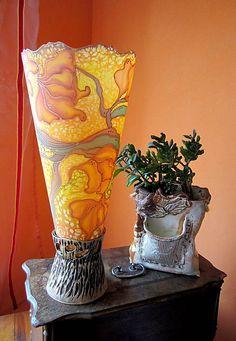 Linduschka / Náladová lampa Blanka