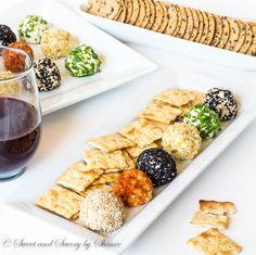 Mini Cheese Balls | Sweet and Savory