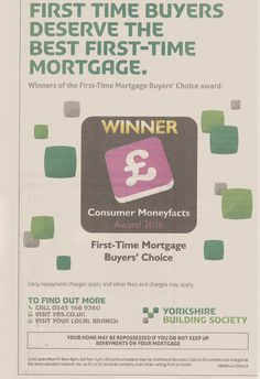 The #CMFAwards winning logo in news print for YBS.