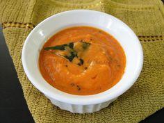 Tomato Onion Chutney | Side dish for Idli Dosa