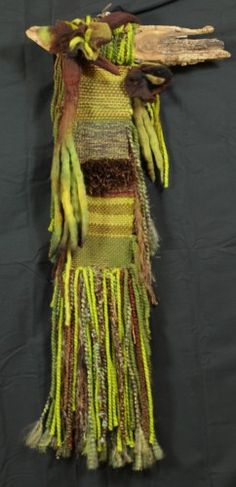 Wall Hanging - Rain Forest - Loom Woven