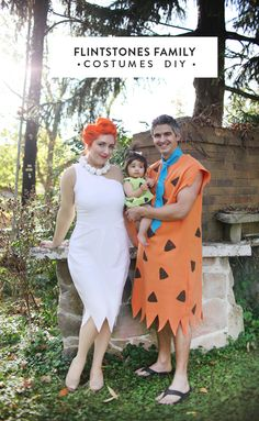Be a modern not Stone Age family and dress as Wilma, Fred and Pebbles this Halloween. You'll have a gay old time!(via Making Nice in the Midwest) Gather up the gang for these incredible family Halloween costume ideas, which are easy to recreate yourself.