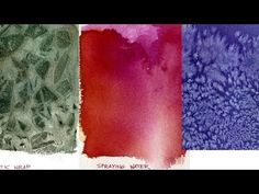 Watercolor Painting Lessons - Special Effects - YouTube
