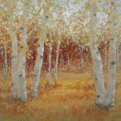 ☼ Painterly Landscape Escape ☼ landscape painting by Tricia May