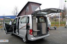 Cristall Camper Car Nissan Evalia , Standheizung, Aufstelldach - Bild 22