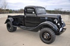 old ford cars ~ alte ford-autos der jahre - My old classic car collection Ford 4x4, Old Ford Trucks, Old Pickup Trucks, Classic Chevy Trucks, Jeep Truck, 4x4 Trucks, Custom Trucks, Cool Trucks, Lifted Trucks